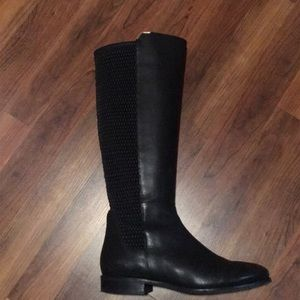 Cole Haan Tall Black Rockland Riding Boots